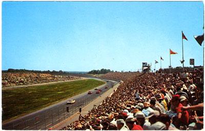Charlotte Motor Speedway postcard
