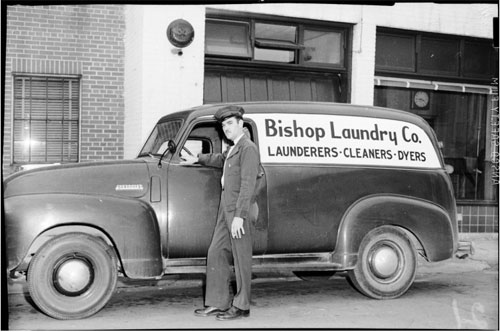 Albert Rabil's Bishop Laundry Photo