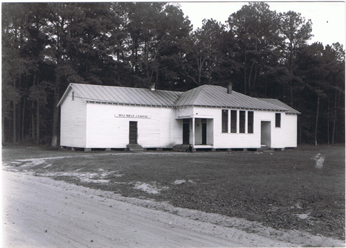 Millneck School in 1950s