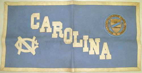 blue Carolina banner