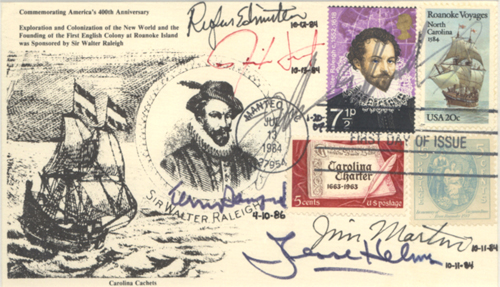 Sir Walter Raleigh first day cover