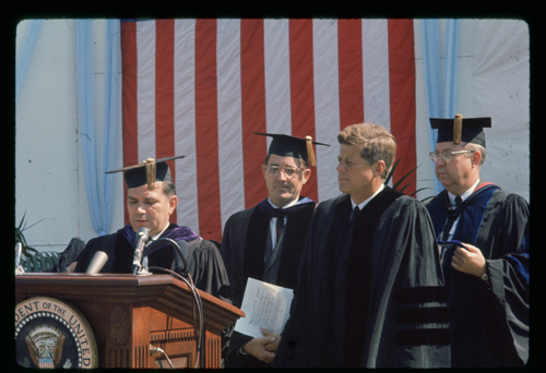 President John F. Kennedy at UNC-Chapel Hill