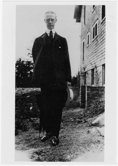 Photograph of Rev. W.D. Moss