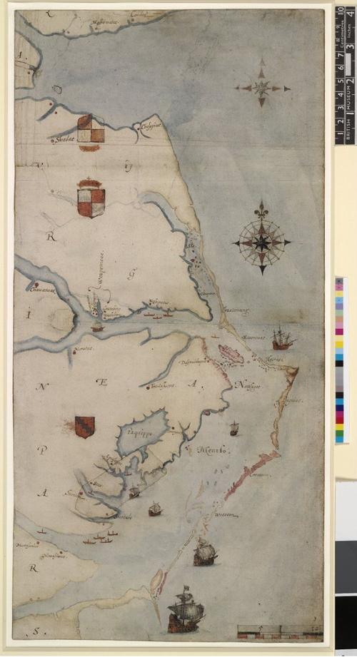 """John White map """"Virgin"""