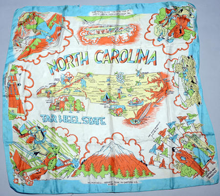 North Carolina scarf