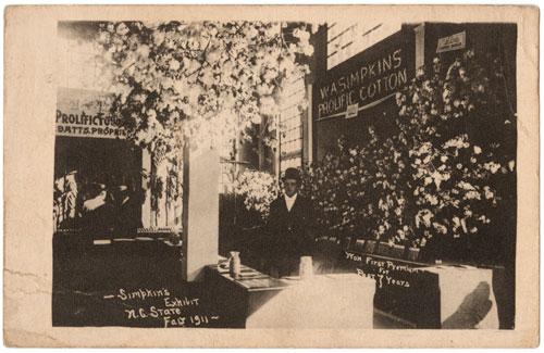 W.A. Simpkins exhibit at N.C. State Fair