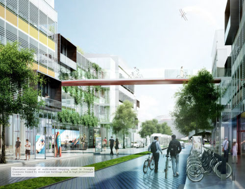 Image from Master Plan for Research Triangle Park