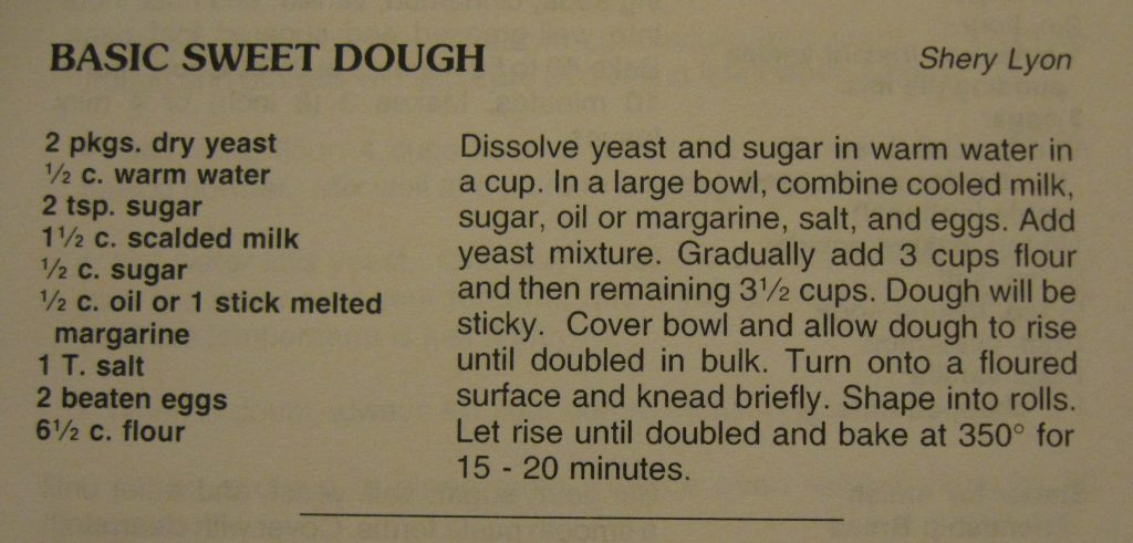 Basic Sweet Dough - Welkom