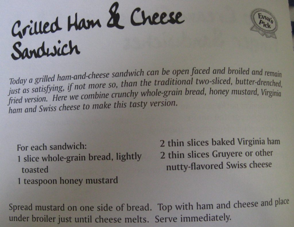Grilled Ham & Cheese Sandwich - Supper's at Six & We're Not Waiting!