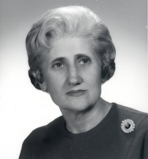 Portrait of Katherine Kennedy Carmichael