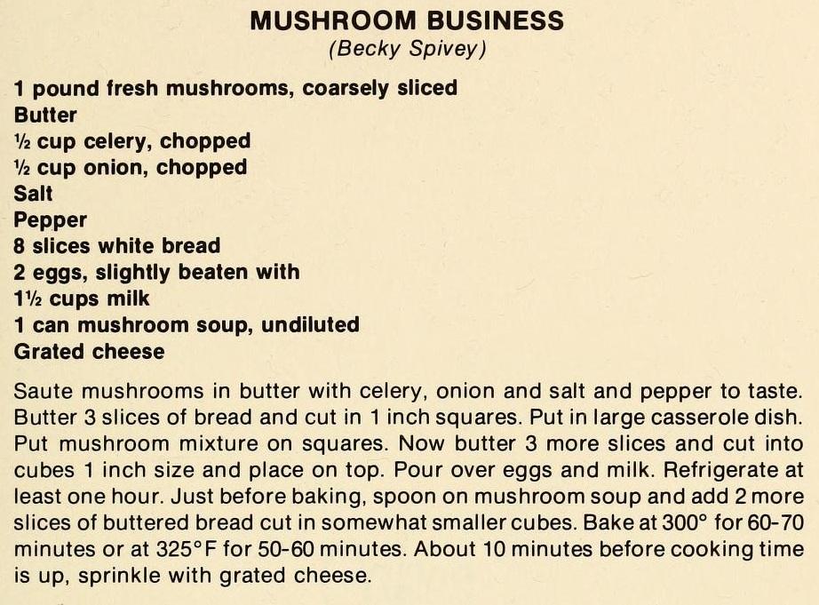 Mushroom Business-The Pantry Shelf