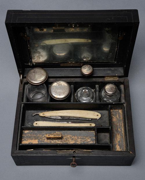 David L. Swain shaving kit