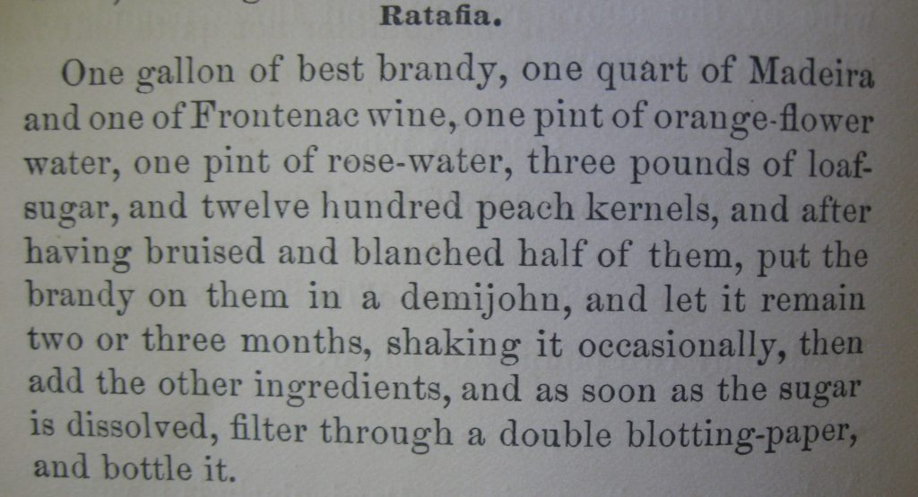 Ratafia-The Young Housewife's Counsellor and Friend