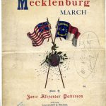 Cover of the Mecklenburg March
