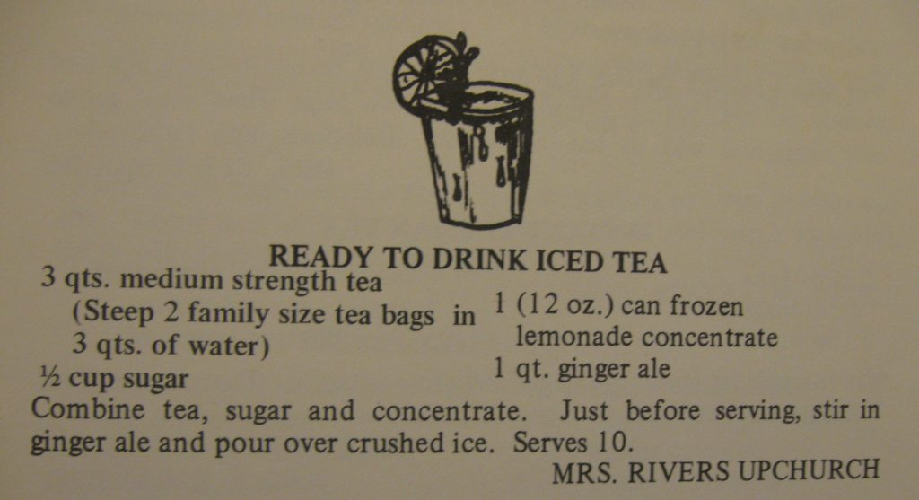 Ready to Drink Iced Tea - A Taste of the Old and the New