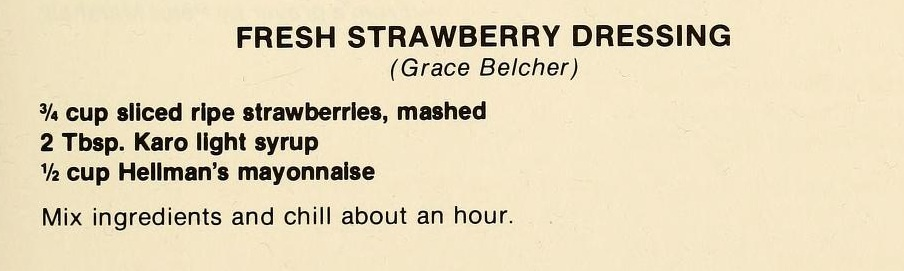 Fresh Strawberry Salad-The Pantry Shelf
