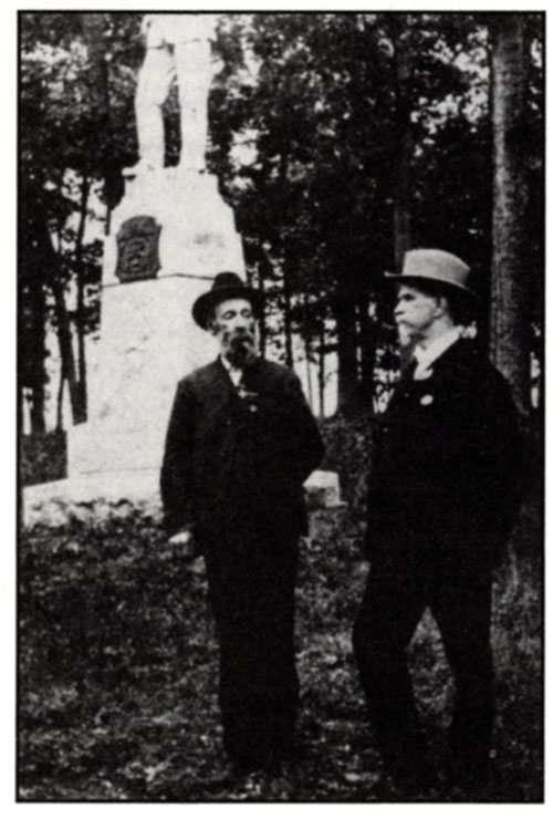 John Randolph Lane meets Charles H. McConnell