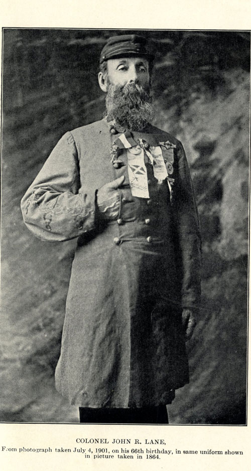 Photo from George C. Underwood's History of the N.C. 26th Regiment, 1901.
