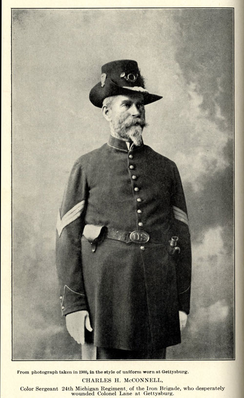 Photograph from George C. Underwood's History of the N.C. 26th Regiment, 1901