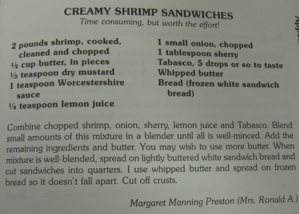 Creamy Shrimp Sandwiches - Pass the Plate
