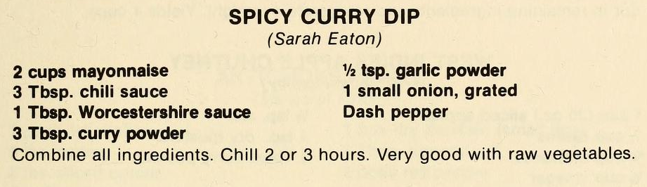 Spicy Curry Dip-The Pantry Shelf