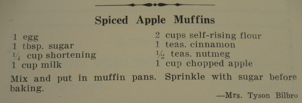 spiced apple muffins - Gourmet...Eating