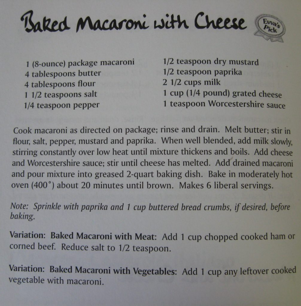 Baked Macaroni with Cheese - Supper's at Six