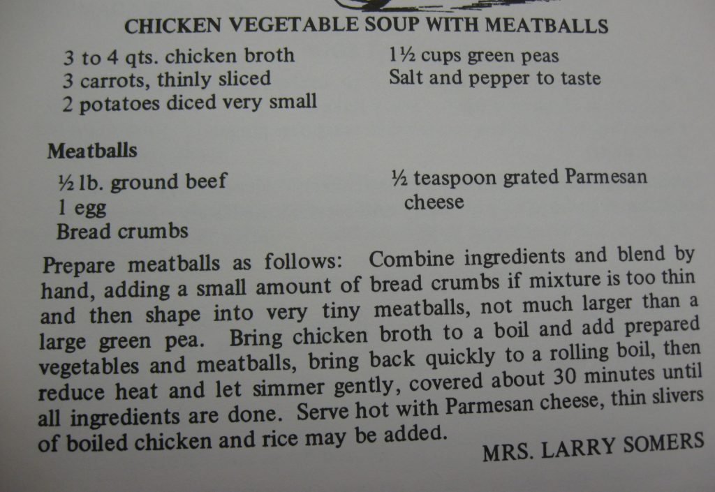 Chicken Vegetable Soup with Meatballs - A Taste of the Old and the New