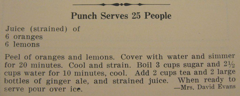 punch serves 25 people - Gourmet...Eating