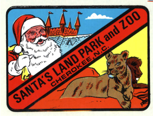 Santa's Land decal