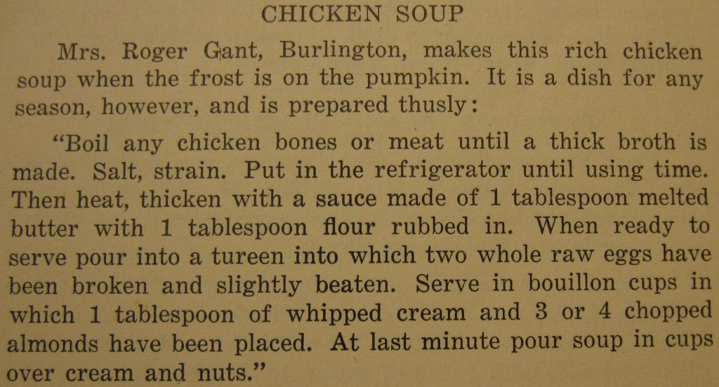 Chicken soup - Soup to Nuts
