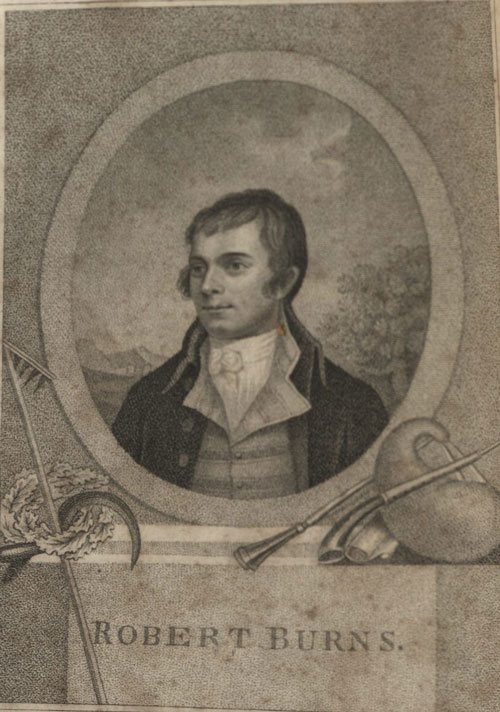 Portrait of Robbie Burns