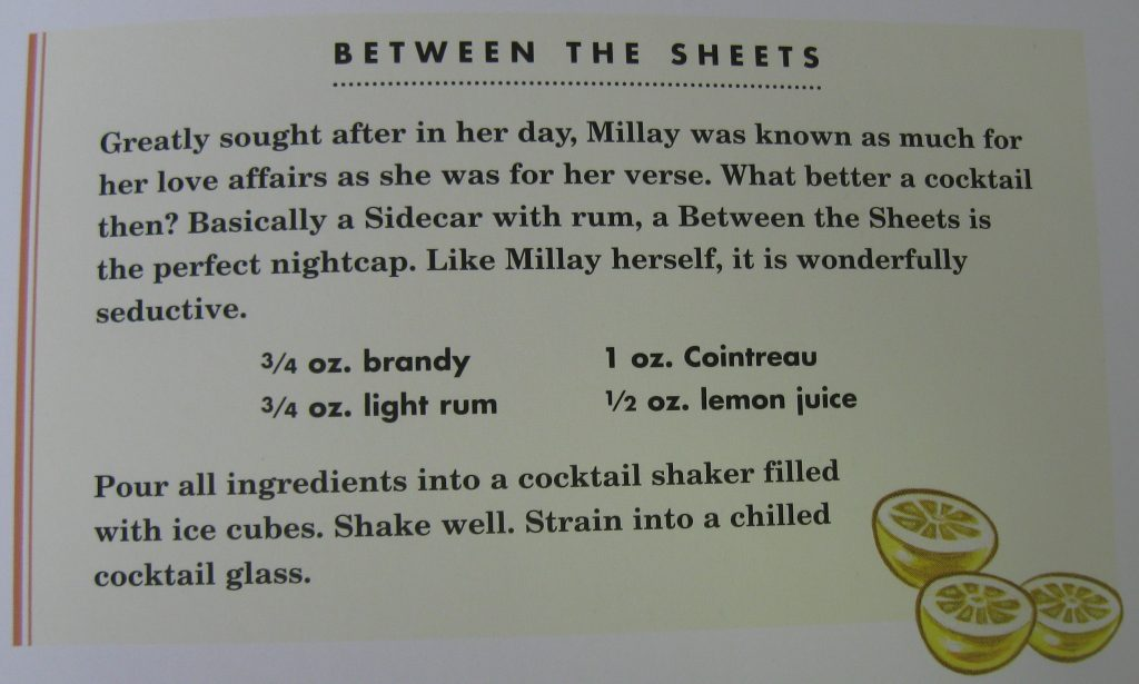 Between the Sheets - Hemingway & Bailey's Bartending Guide