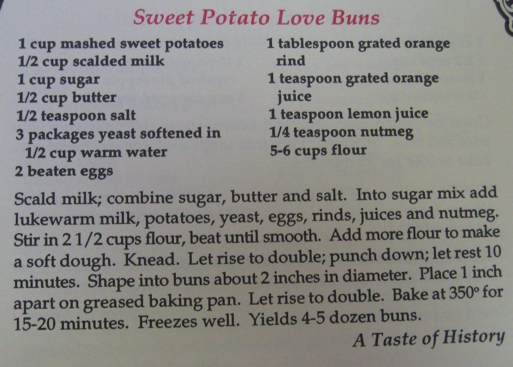 Sweet Potato Love Buns - Best of the Best