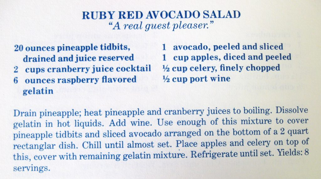 Ruby Red Avocado Salad - The Carolina Collection