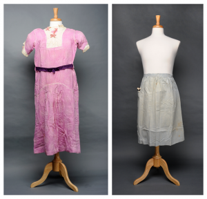dress and apron worn in Thomas Wolfe play