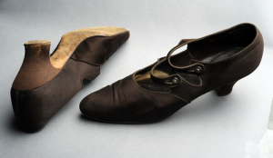 Shoes worn in Thomas Wolfe play