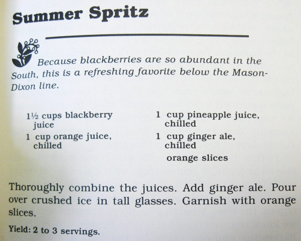 Summer Spritz-Cooking with Berries