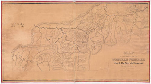 Western Turnpike Map