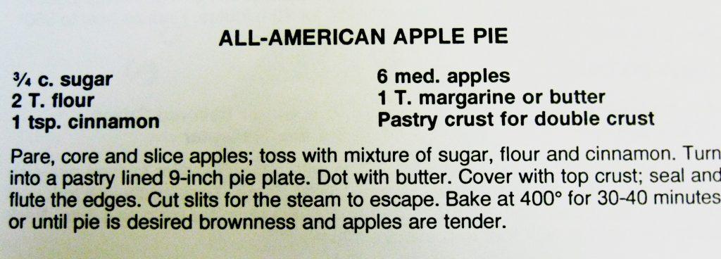 All American Apple Pie - Dixie Classic Fair
