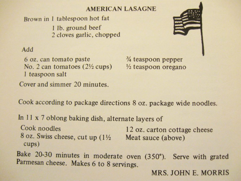 American Lasagna - A Taste of the Old and the New