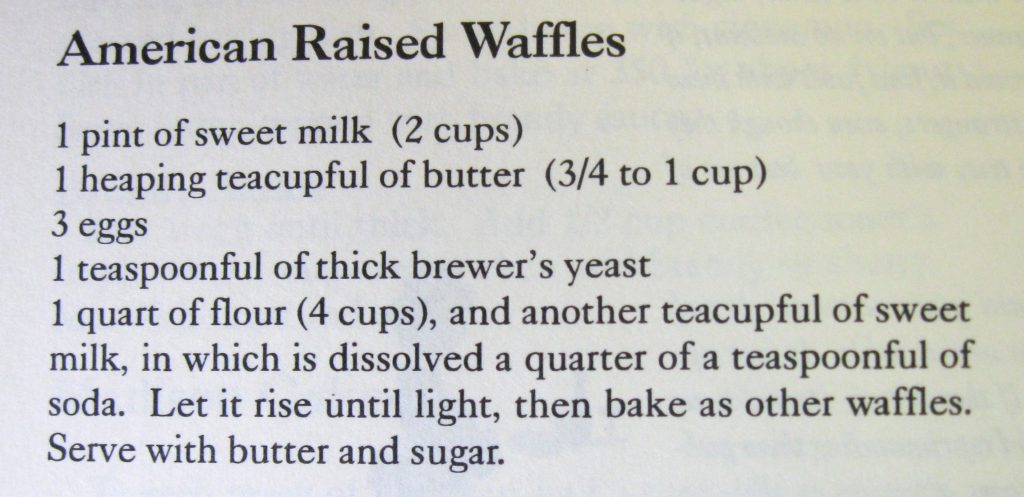 American Raised Waffles - Keepers of the Hearth