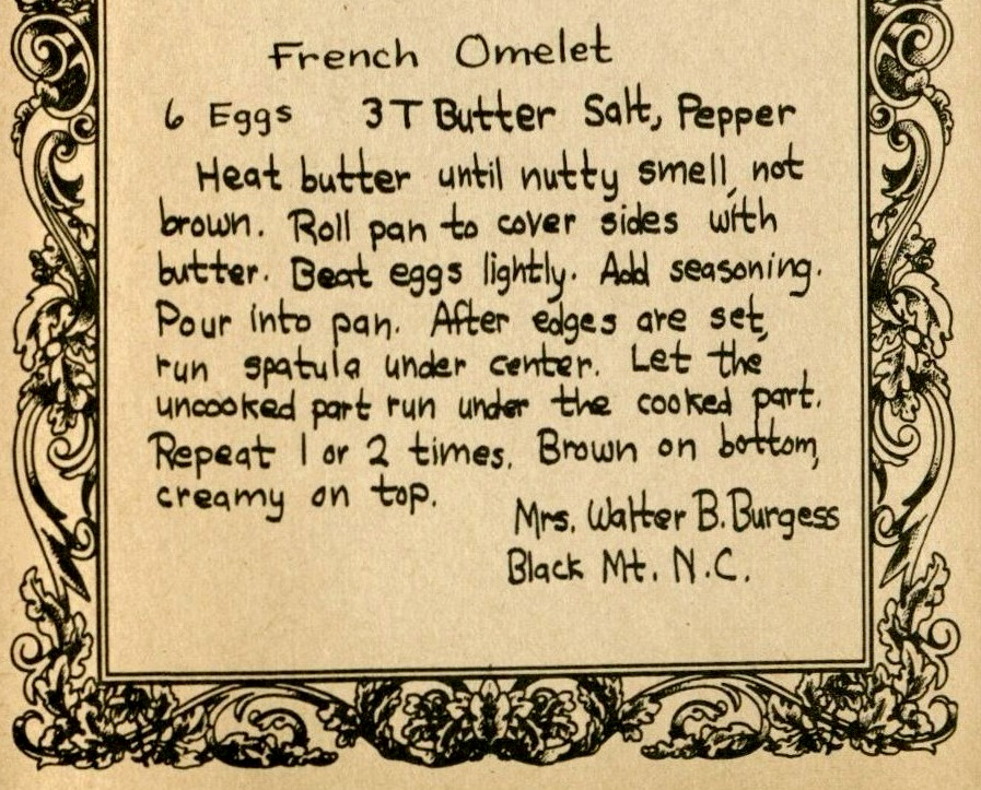 French Omelet - Cook Book