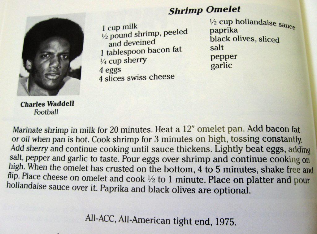 Shrimp Omelet-Tarheels Cooking for Ronald's Kids