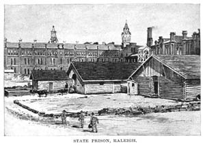 Image of State Prison of North Carolina from Harper's New Monthly Magazine, January 1895