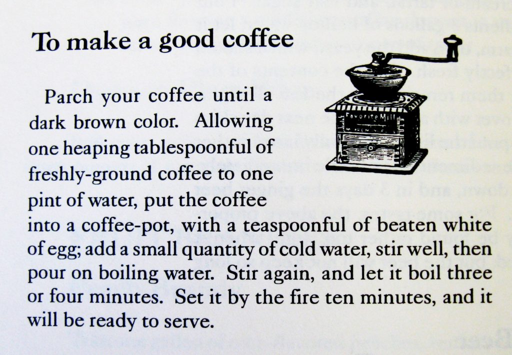 To Make a Good Coffee - Keepers of the Hearth