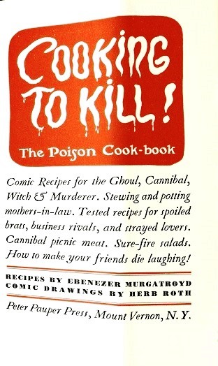 Inside Cover - Cooking to Kill