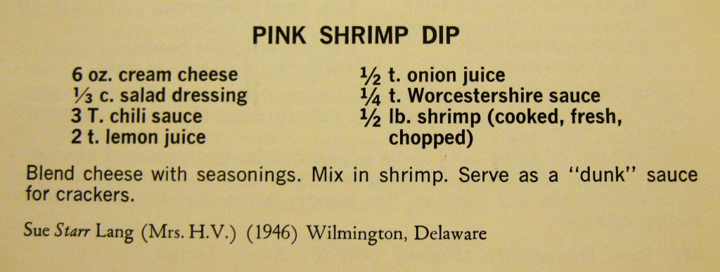 Pink Shrimp Dip - Peace Cookbook