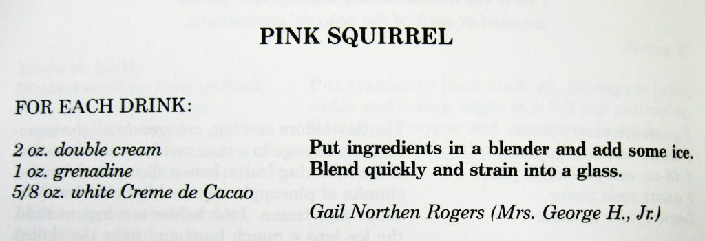 Pink Squirrel - Mountain Elegance