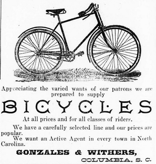 Advertisement for Bike